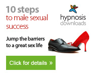 Using hypnosis hypnotherapy to assist with male sexual problems