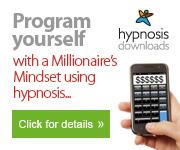 Millionaires mindset hypnosis