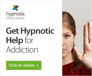 Image linking to order and information page for hypnosis program that helps with addictions