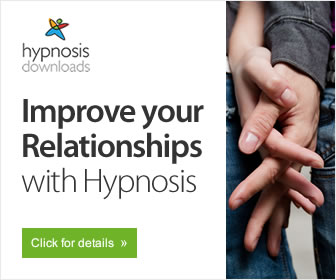 Improve relationships with hypnosis logo