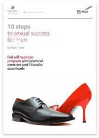 10 Steps to Male Sexual Success Hypnosis Course - 50% off