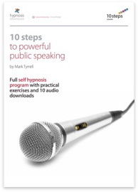 10 Steps to Powerful Public Speaking Hypnosis Course - 50% off