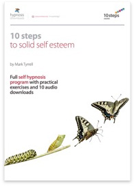 10 Steps to Solid Self Esteem Hypnosis Course - 50% off